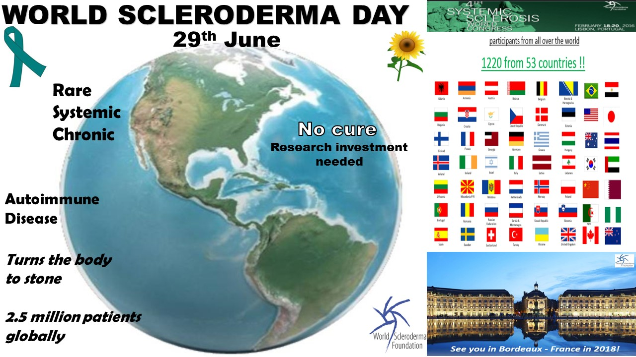 World Scleroderma Day 2016