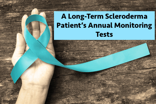 long-term SSc patient's monitoring tests