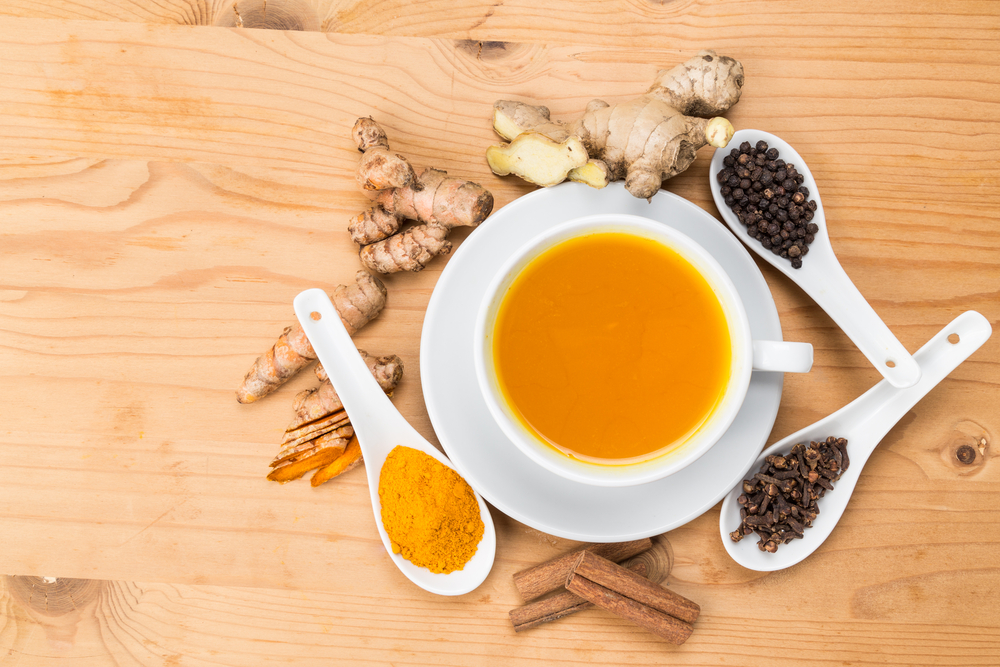 Scleroderma, Ginger and Turmeric Tea