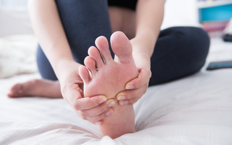 foot healthcare for systemic sclerosis