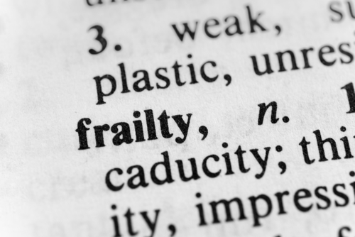 frailty in SSc-ILD patients
