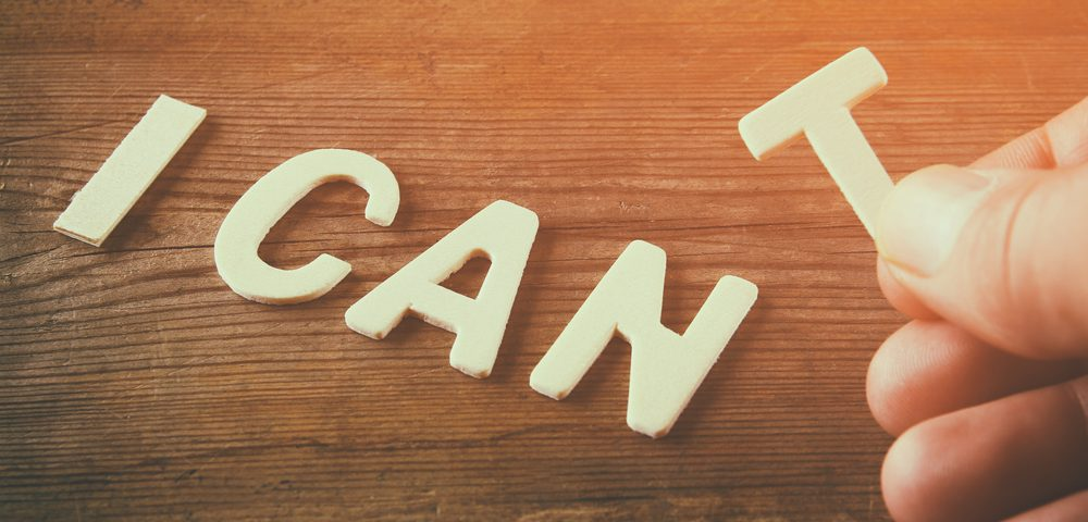 When It Is OK to Say, 'I Can't'