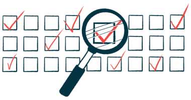 quality of life survey | Scleroderma News | illustration of checkboxes with magnifying glass